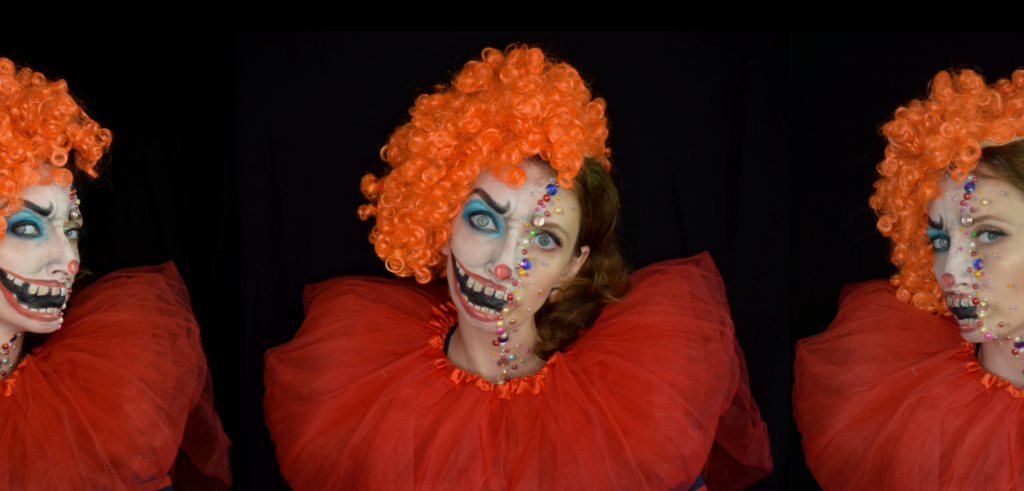 clown charakteryzacja